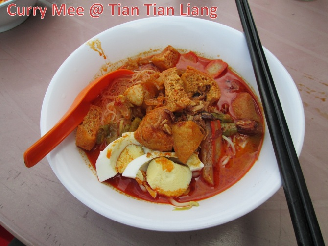 SP Curry Mee @ Tian Tian Liang (Bakar Arang) a